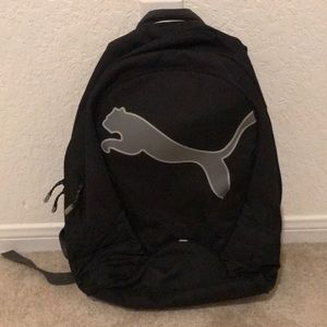 Puma Backpack with large Grey Logo
